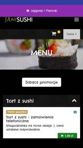 Aplikacja Janisushi