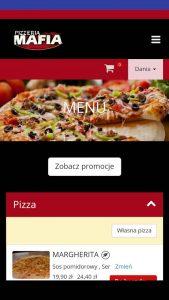 Aplikacja Pizzeria Mafia