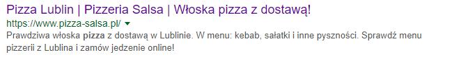 title i description na stronie restauracji
