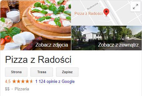 Opinie Pizza z Radości