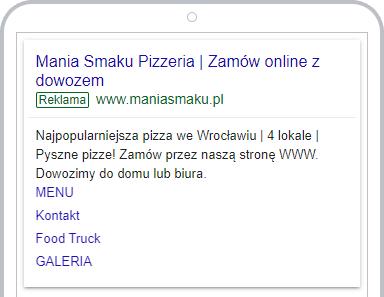 wykres google mania smaku
