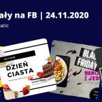 23.11.2020 Dzień Ciasta, Black Friday   Posty i teksty na FB