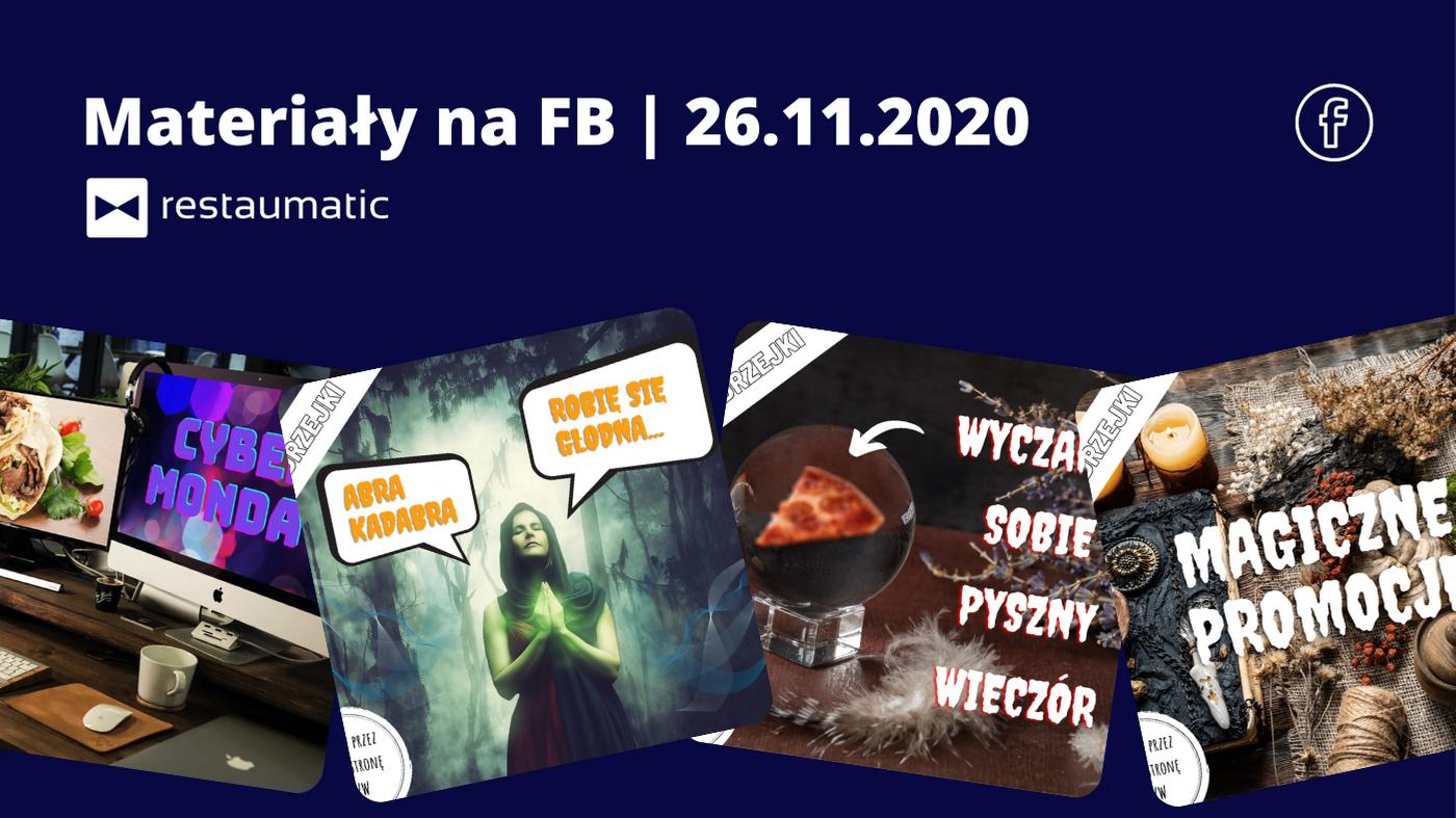 Materiały na FB | 26.11.2020 | Andrzejki i Cyber Monday