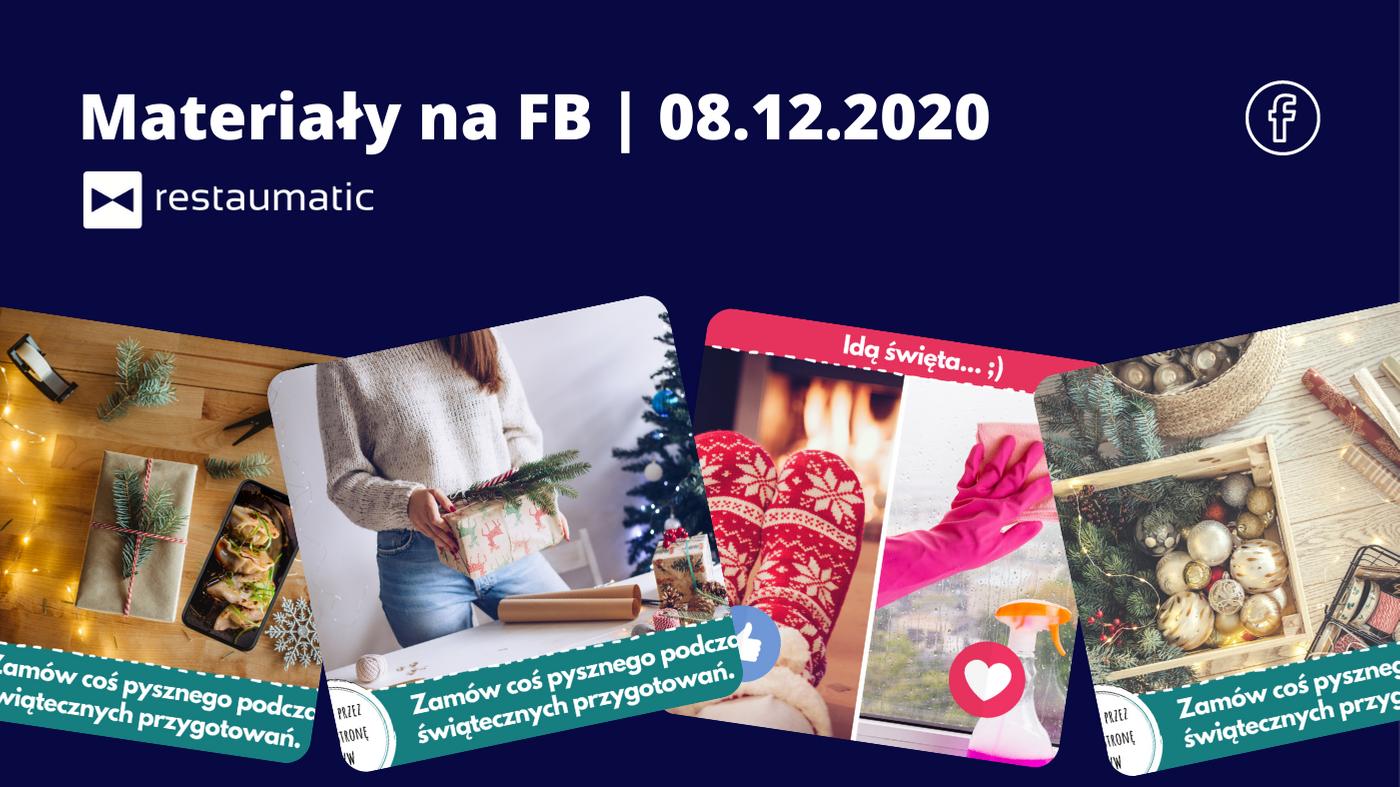 Materiały na FB | 08.12.2020 | Przygotowania do świąt