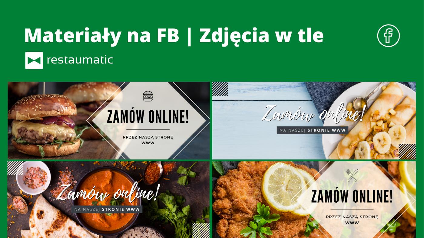 Materiały na FB | Zdjęcia w tle na profil FB – dla restauratorów